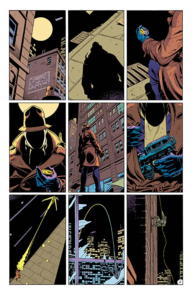 click for super-sized previews of Watchmen