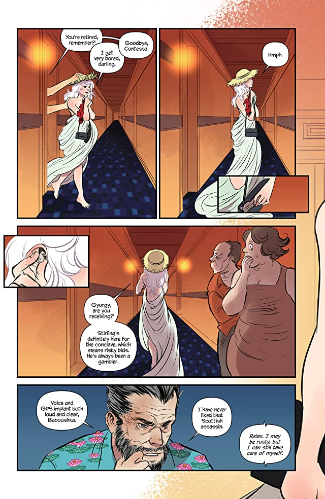 click for super-sized previews of Codename Baboushka: Conclave of Death #2