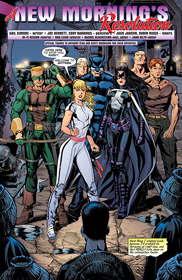 Birds of Prey (1999-2009) #85