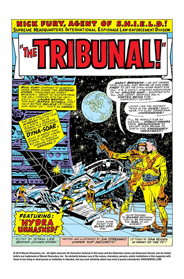 click for super-sized previews of Strange Tales (1951-1968) #156