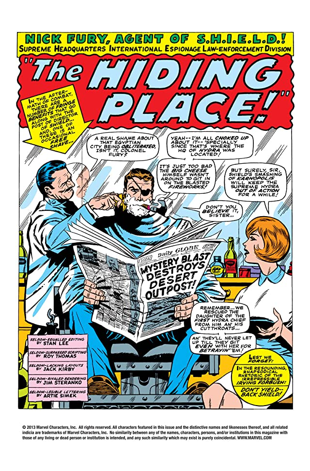 click for super-sized previews of Strange Tales (1951-1968) #153