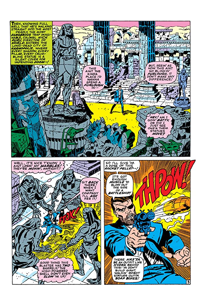 click for super-sized previews of Strange Tales (1951-1968) #151