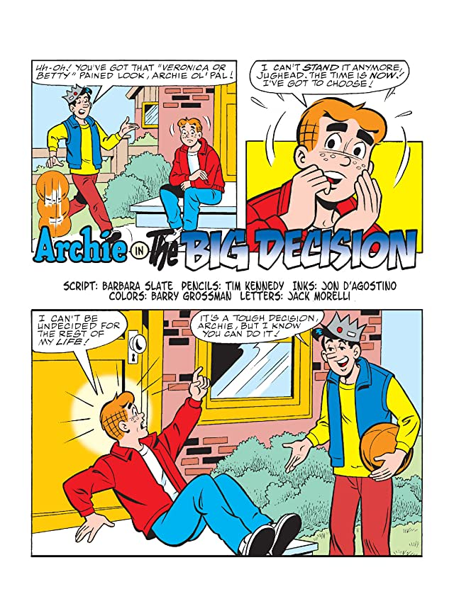 click for super-sized previews of Archie Comics Spectacular: It's A Date