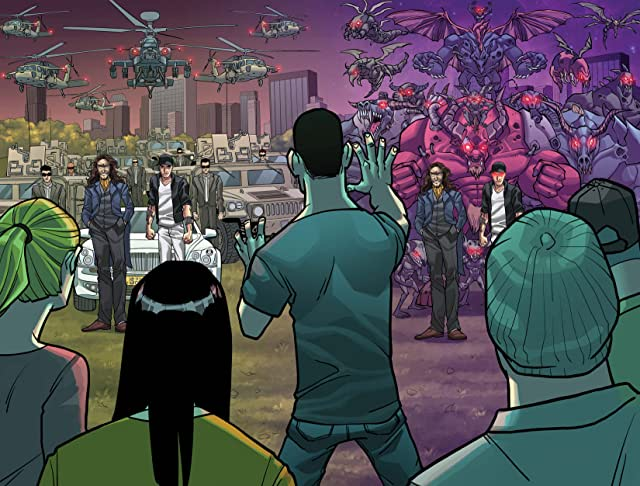 click for super-sized previews of TomorrowLand #4 (of 4)