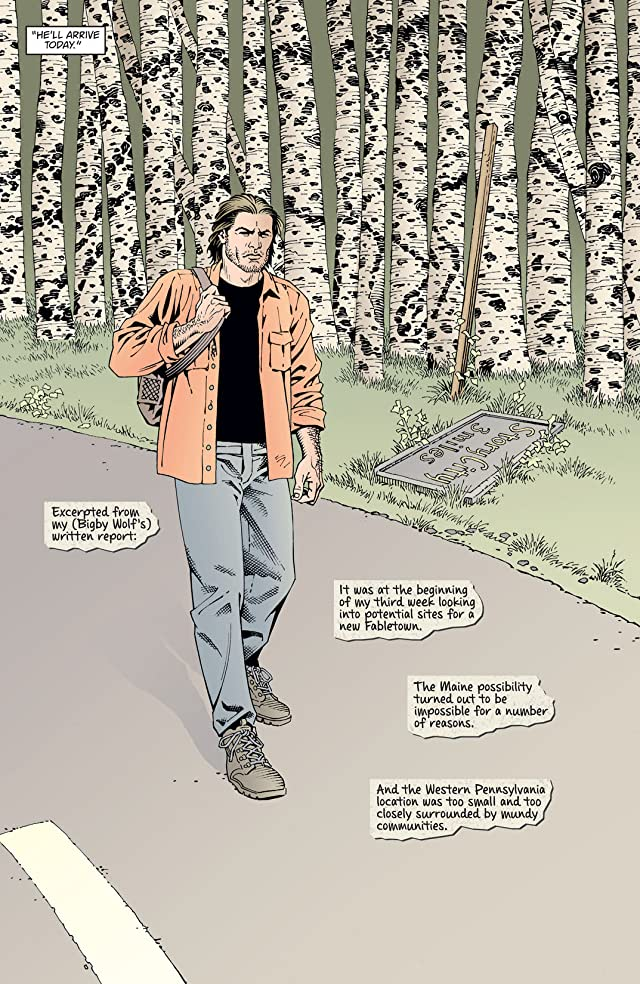 click for super-sized previews of Fables: Werewolves of the Heartland