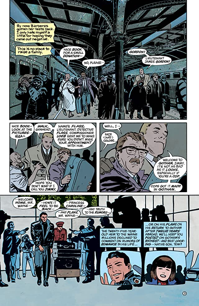click for super-sized previews of Batman: Year One