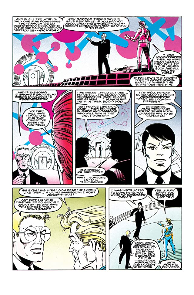 click for super-sized previews of Nick Fury vs. S.H.I.E.L.D. (1988) #4