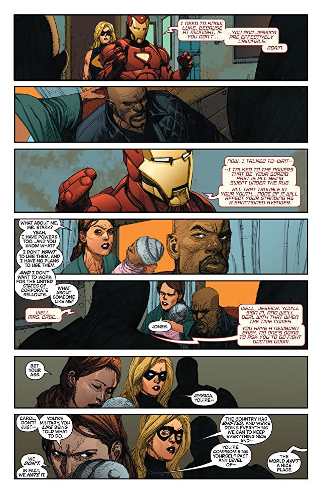 click for super-sized previews of New Avengers (2004-2010) #22