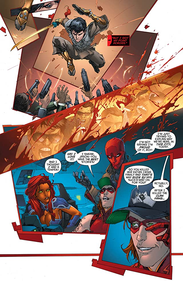 click for super-sized previews of Red Hood and the Outlaws (2011-2015) Vol. 2: The Starfire