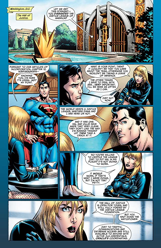 click for super-sized previews of Justice League of America (2006-2011) #32