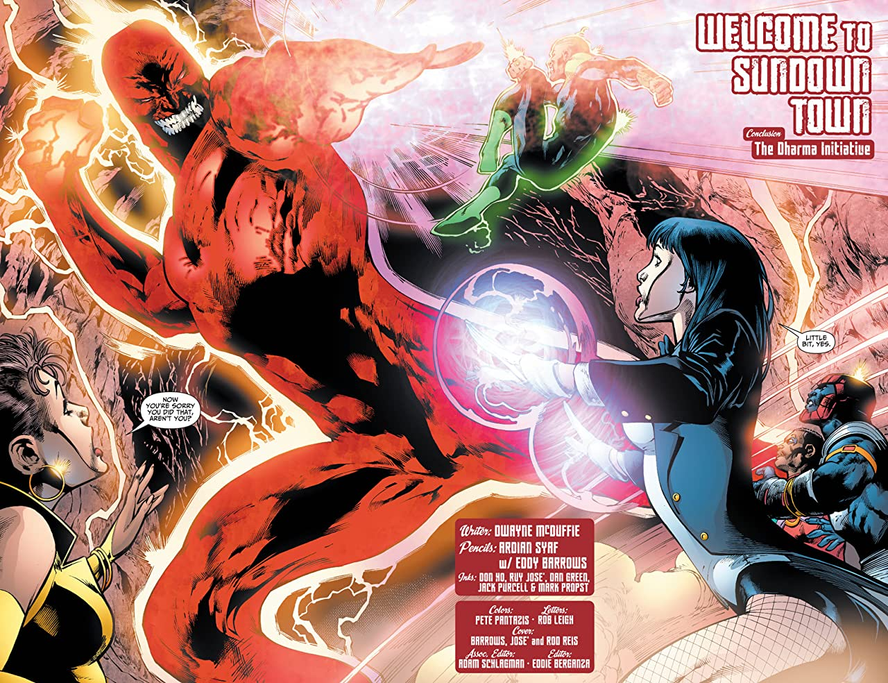 Justice League of America (2006-2011) #34