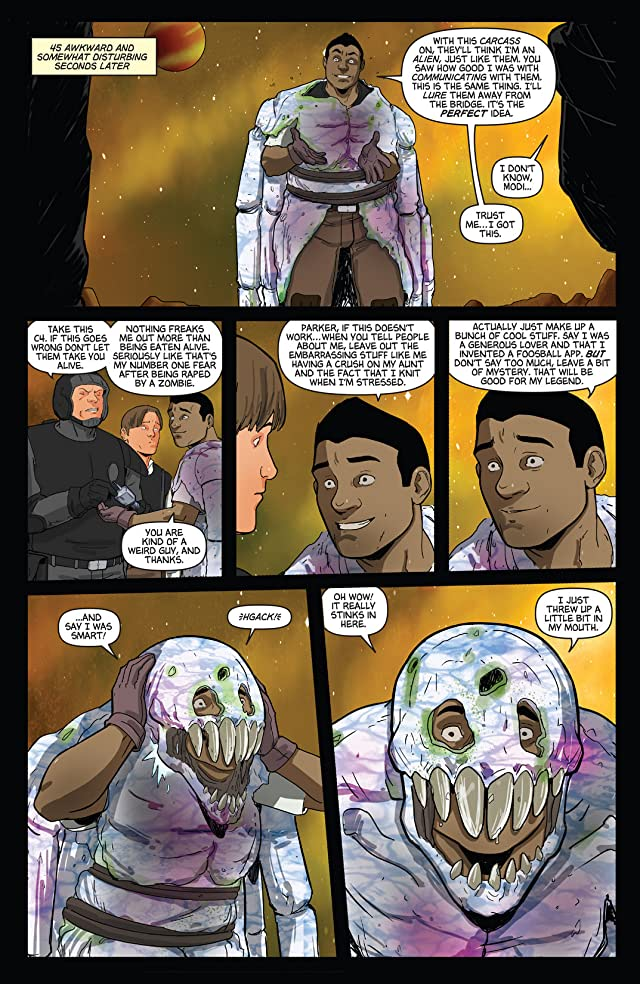Aliens vs. Parker #4 (of 4)