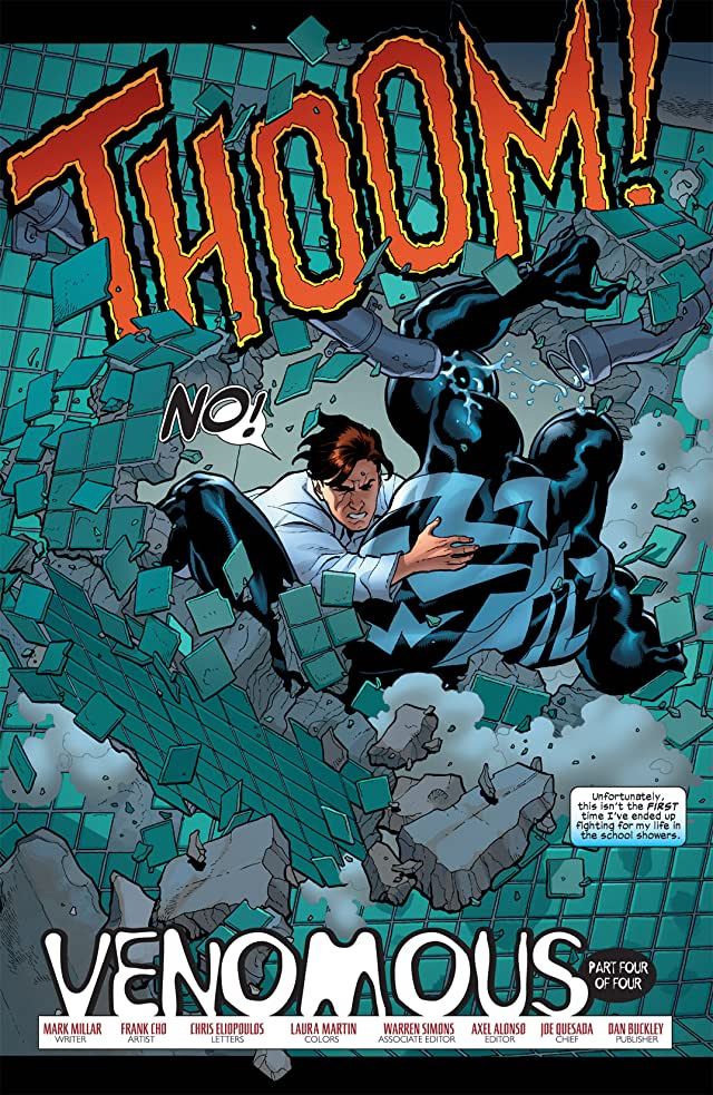 click for super-sized previews of Marvel Knights Spider-Man (2004-2006) #8