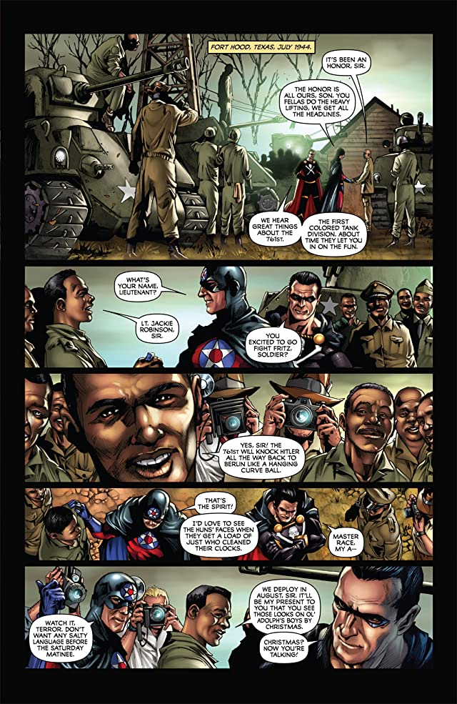 click for super-sized previews of Black Terror #5
