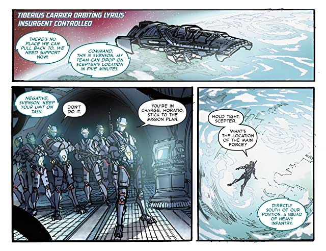 click for super-sized previews of Line of Defense #1