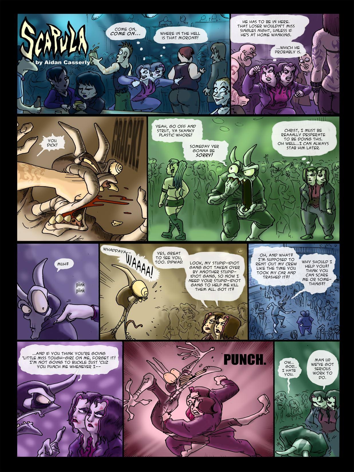 Scapula: The Sunday Comics