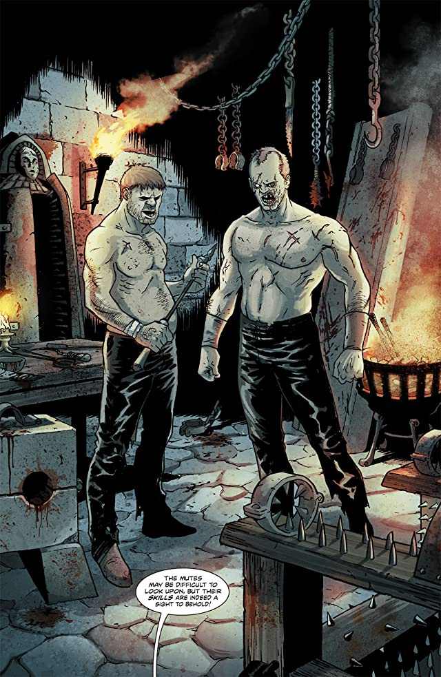 click for super-sized previews of Robert E. Howard's Hawks of Outremer #3