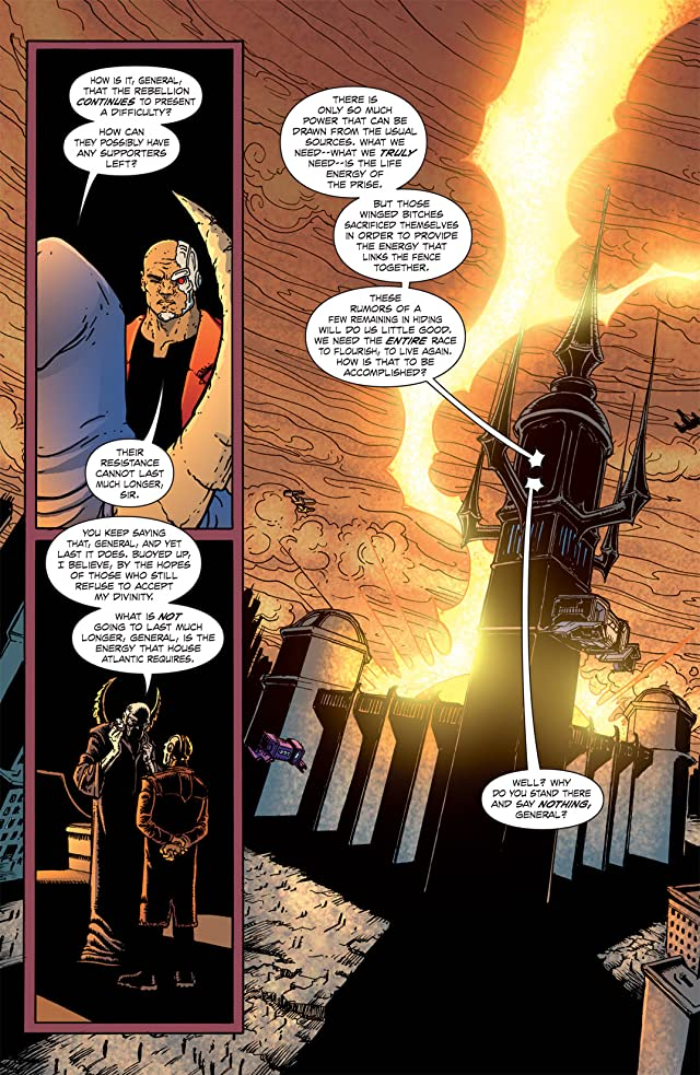 click for super-sized previews of The Amory Wars: In Keeping Secrets of Silent Earth: 3 #2