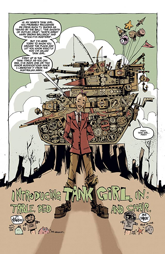 click for super-sized previews of Everybody Loves Tank Girl #1 (of 3)