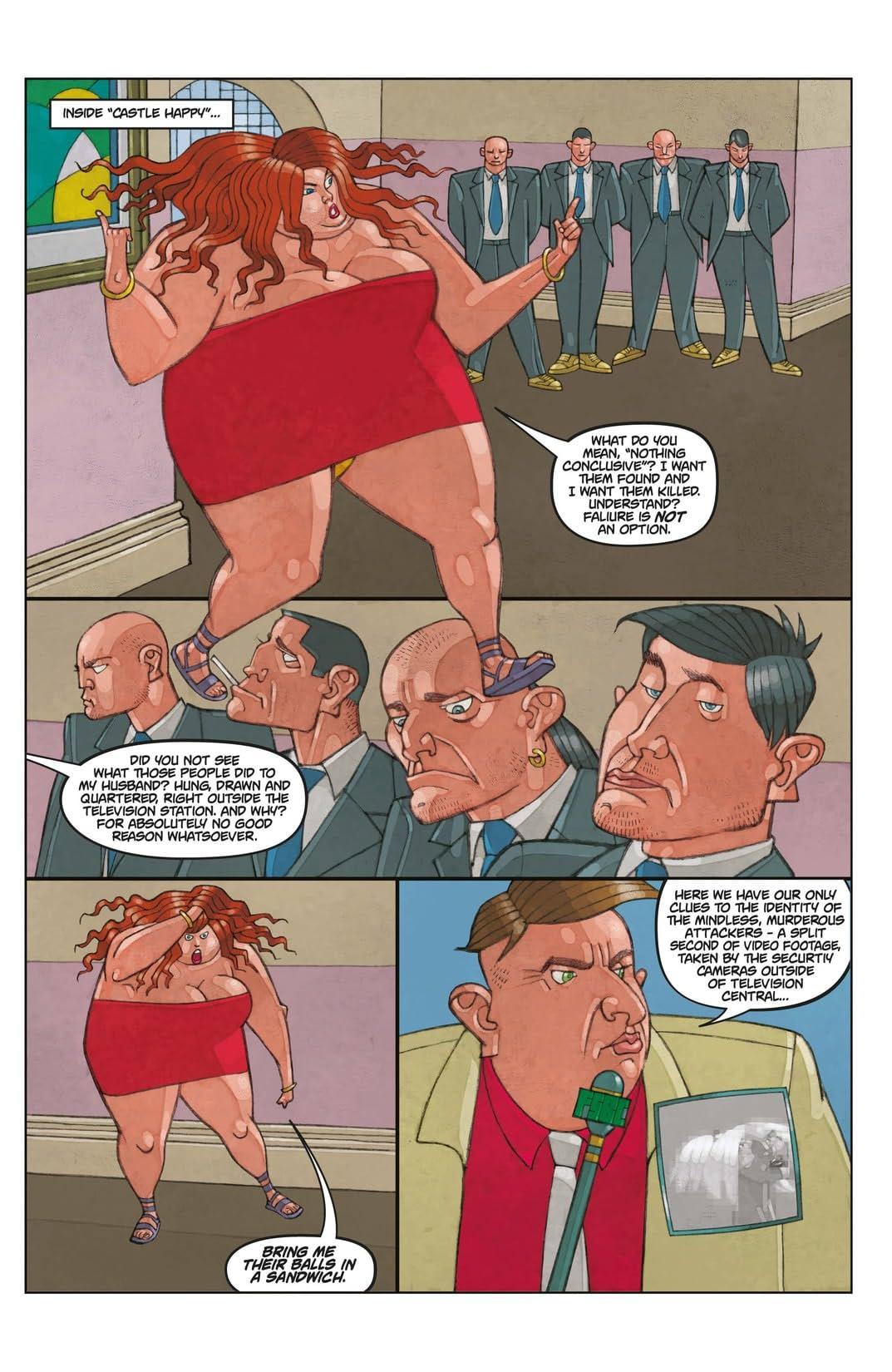 Tank Girl: Carioca #4 (of 6)