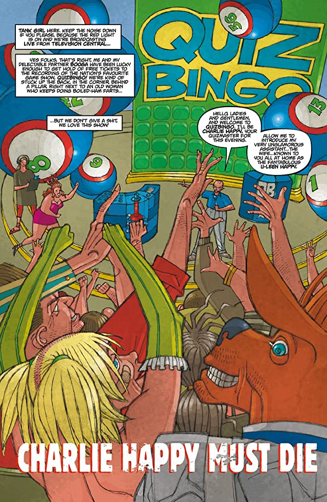 click for super-sized previews of Tank Girl: Carioca #1 (of 6)