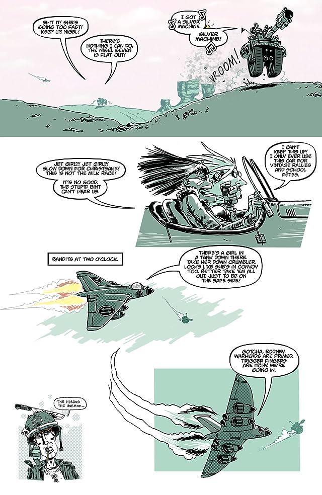 Tank Girl: Bad Wind Rising #3 (of 4)