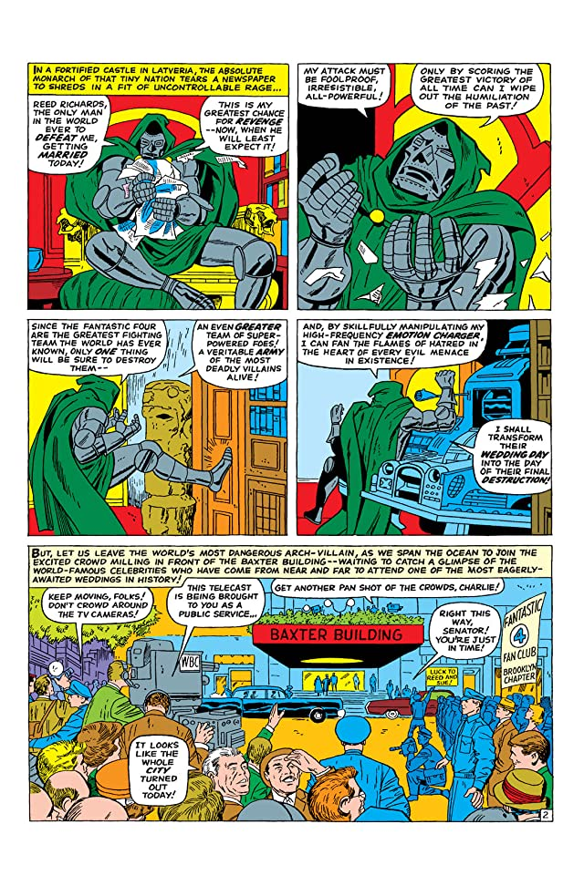 click for super-sized previews of Fantastic Four (1961-1998) Annual #3