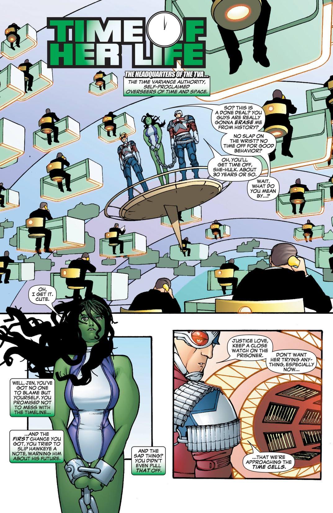 She-Hulk (2005-2009) #3