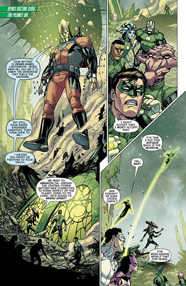 click for super-sized previews of Green Lantern Corps (2011-2015) #24