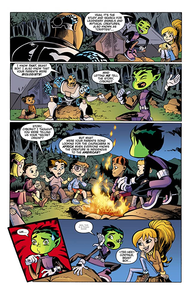 click for super-sized previews of Teen Titans Go! (2004-2008) #45