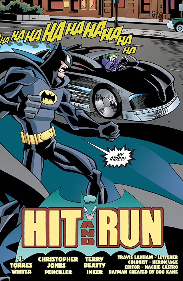 click for super-sized previews of The Batman Strikes! #16