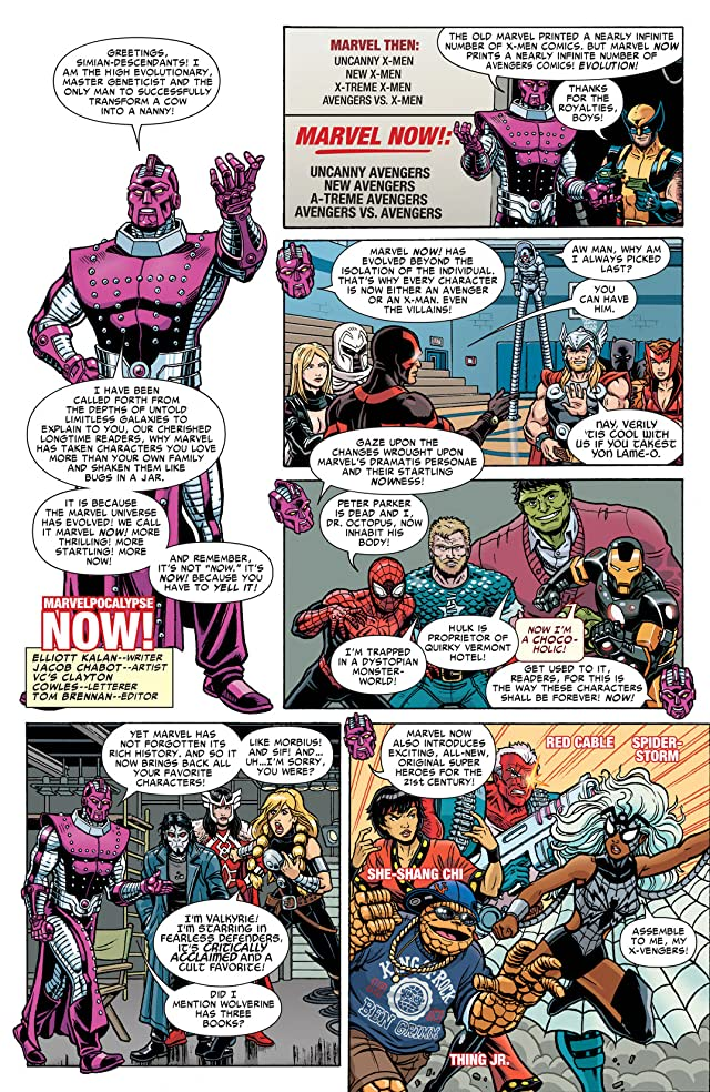 click for super-sized previews of Marvel: Now What? #1