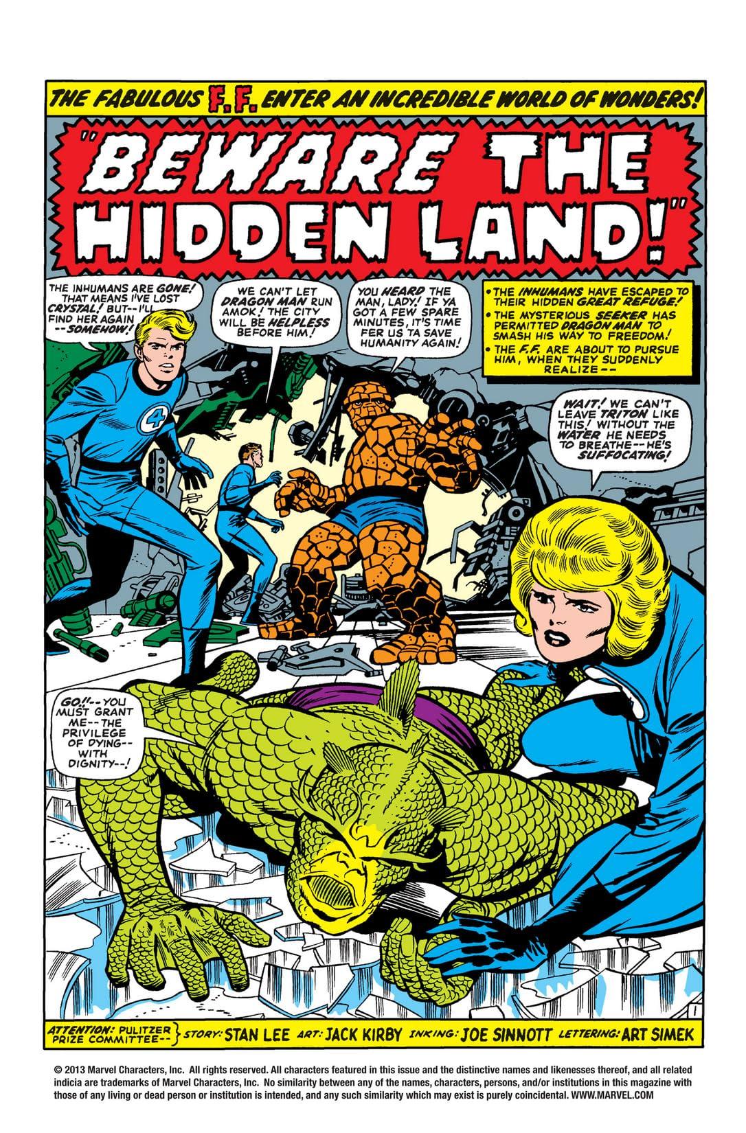 Fantastic Four (1961-1998) #47