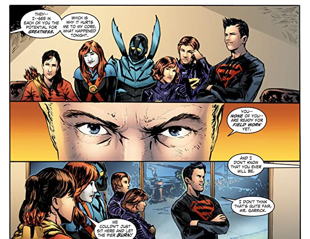 click for super-sized previews of Smallville: Titans #2 (of 4)