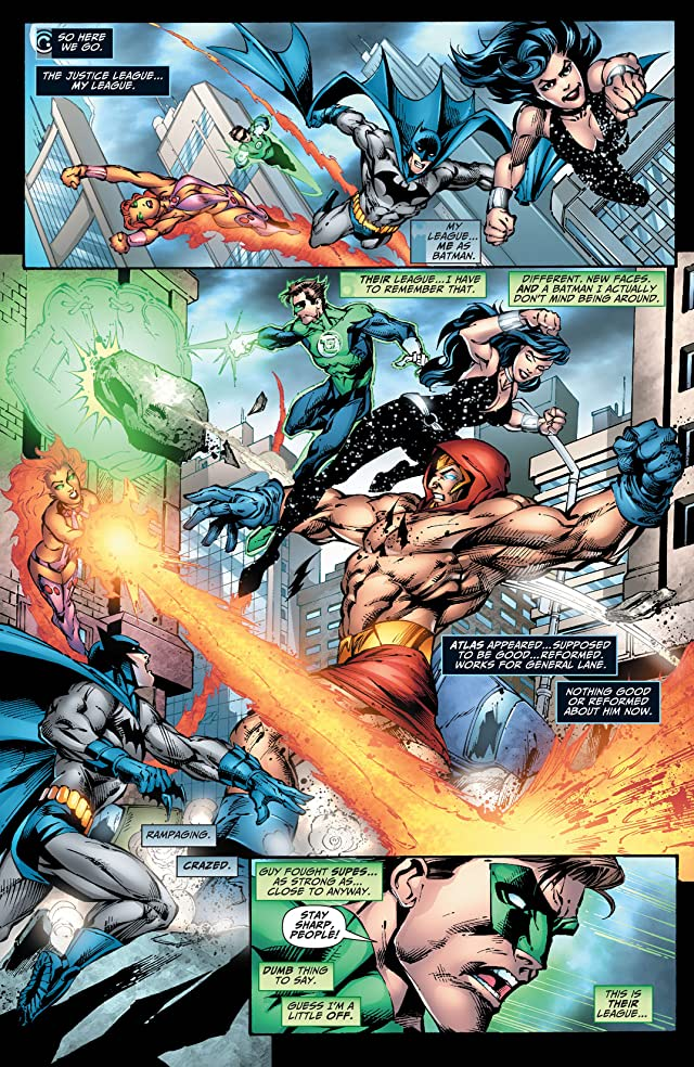 click for super-sized previews of Justice League of America (2006-2011) #42
