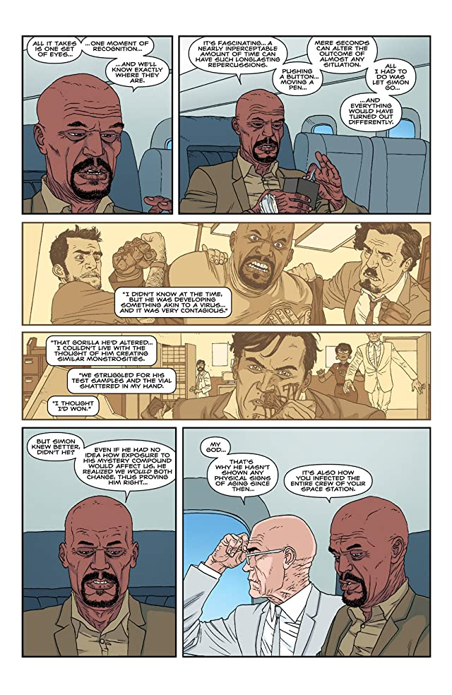 click for super-sized previews of Nowhere Men #6