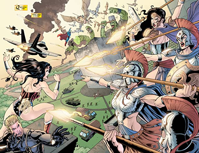click for super-sized previews of Wonder Woman (2006-2011) #10