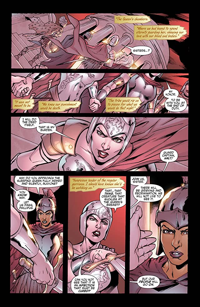 click for super-sized previews of Wonder Woman (2006-2011) #17