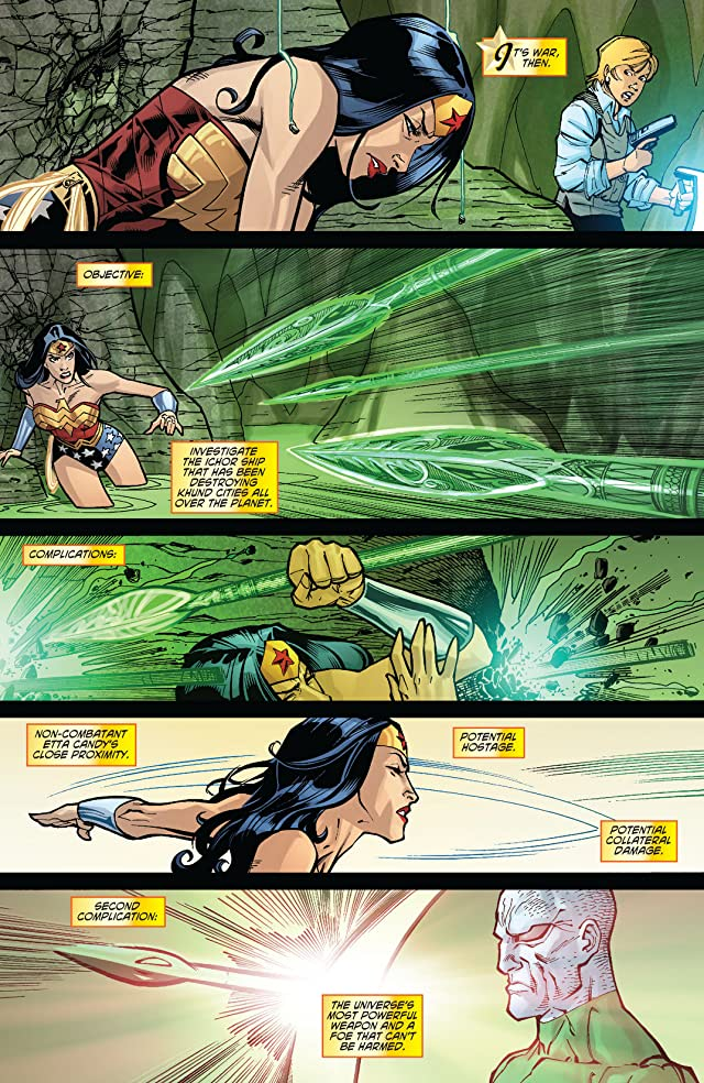 click for super-sized previews of Wonder Woman (2006-2011) #19