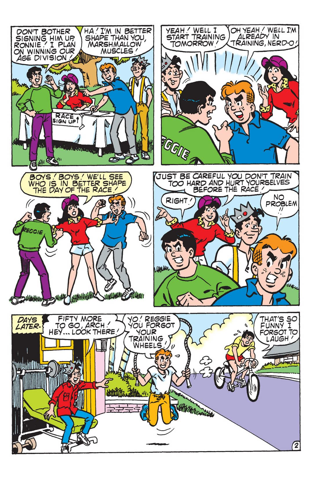 PEP Digital #16: Betty & Veronica Fitness Fun!
