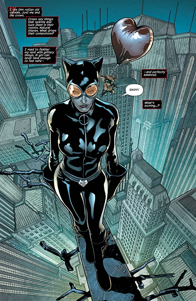 click for super-sized previews of Catwoman (2011-) Vol. 3: Death of the Family