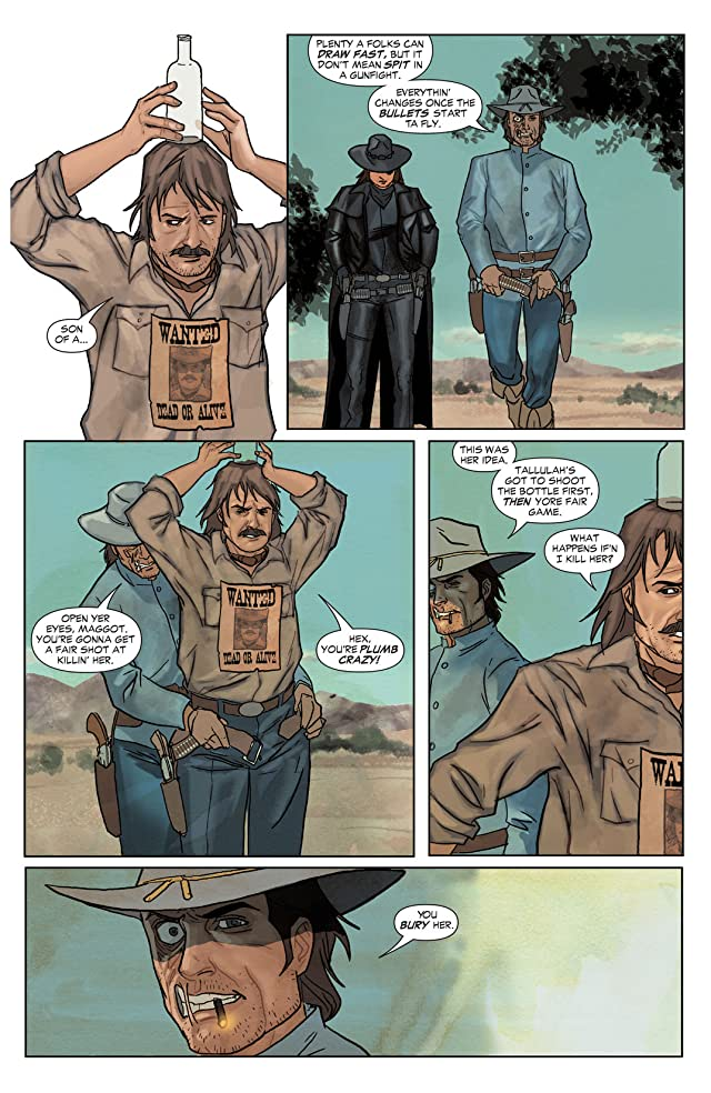 click for super-sized previews of Jonah Hex (2006-2011) #17