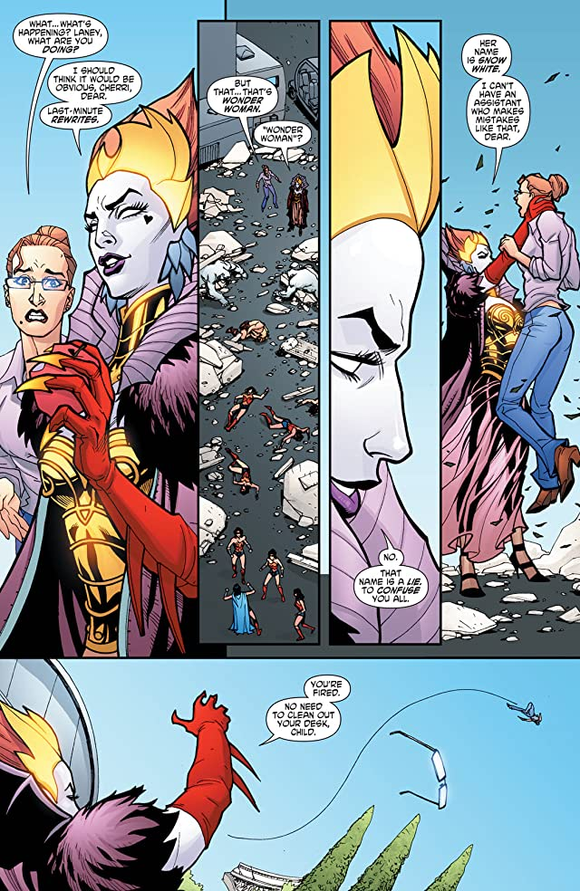 click for super-sized previews of Wonder Woman (2006-2011) #25