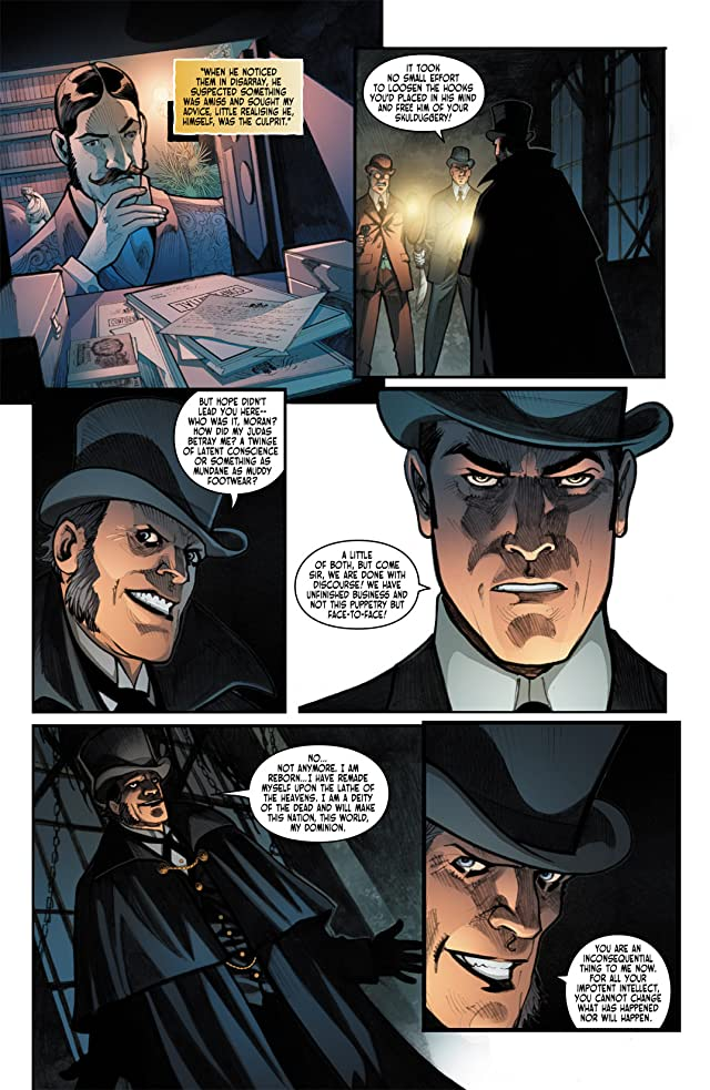 click for super-sized previews of Victorian Undead #6
