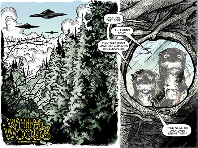 click for super-sized previews of War of The Woods #1: Season 1