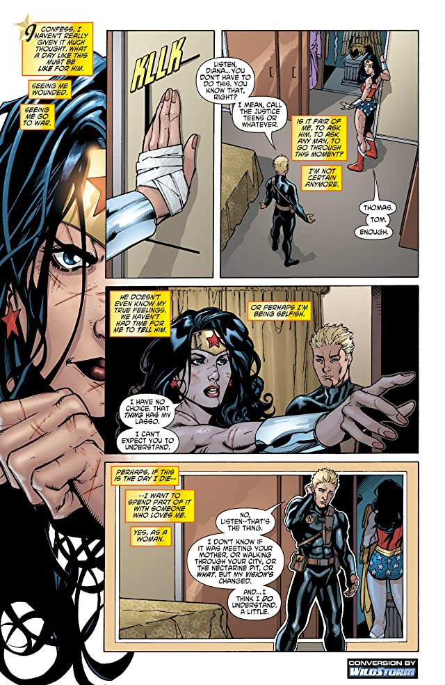 click for super-sized previews of Wonder Woman (2006-2011) #28