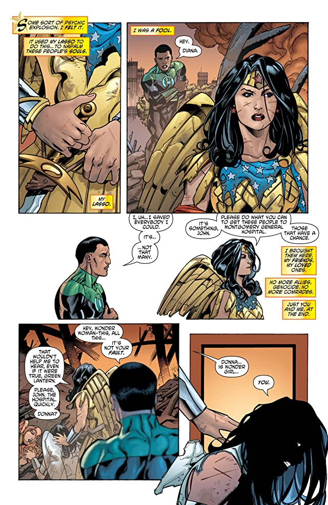 click for super-sized previews of Wonder Woman (2006-2011) #29