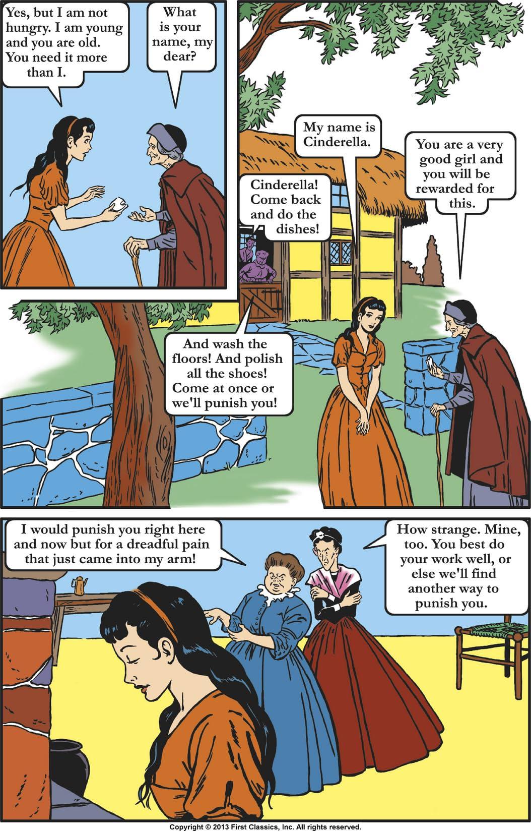 Classics Illustrated Junior #503: Cinderella