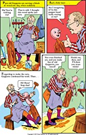 Classics Illustrated Junior #513: Pinocchio