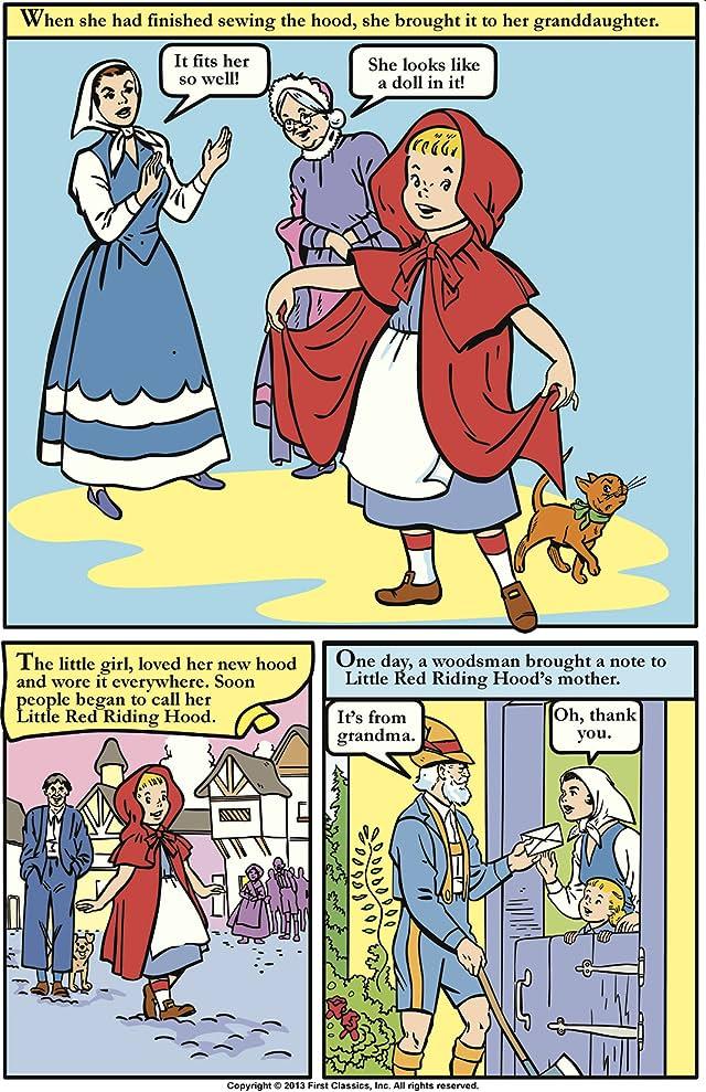 Classics Illustrated Junior #510: Little Red Riding Hood